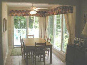 Bethany Beach Rental - Dinig Room