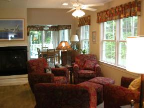 Bethany Beach Rental - Living Room